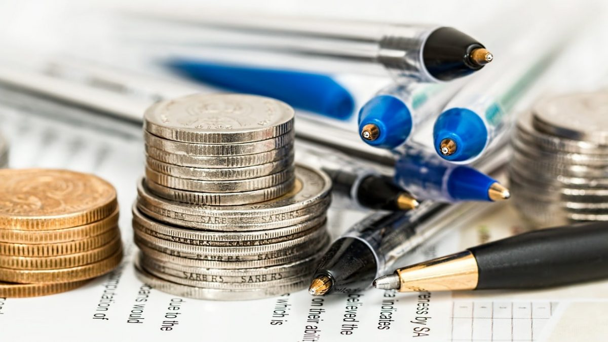 coins pens
